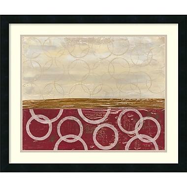 Amanti Art ? Impression encadrée « Tourner en rond I » par Natalie Avondet, 26 x 22 po (DSW1418847)