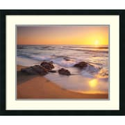 "Christopher Foster 'Pacific Calm' Framed Art Print 27"" x 23"" (DSW1421211)"
