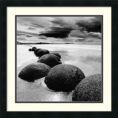 Amanti Art PhotoINC Studio Rocks Framed Art Print, 22 x 22