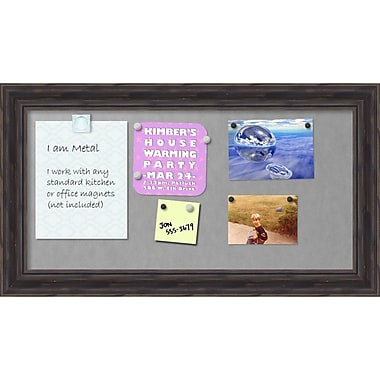 Amanti Art Rustic Pine Magnetic Board Magnetic Board, 28 x 16