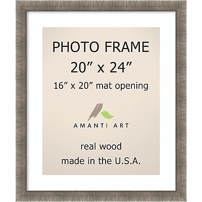 Silver Leaf Photo Frame Matted to 16x20 23 x 27-inch (DSW1396536