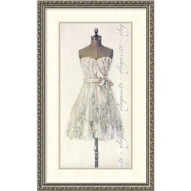 Amanti Art ? Impression encadrée « Élégante Leila », 19 x 31 po (DSW1385246)