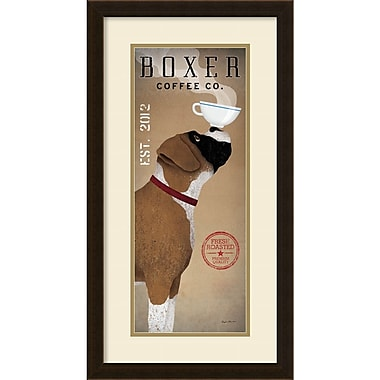 Amanti Art Ryan Fowler Boxer Coffee Co. v.2 Framed Art Print, 15
