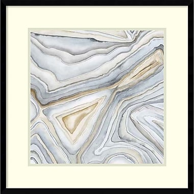 Amanti Art Megan Meagher Agate Abstract I Framed Art Print, 23