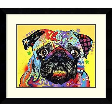 Amanti Art ? Impression encadrée « Carlin » par Dean Russo, 29 x 25 po (DSW1418402)