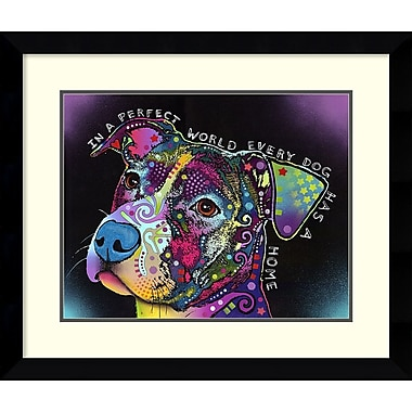 Amanti Art Dean Russo In a Perfect World Framed Art Print, 29
