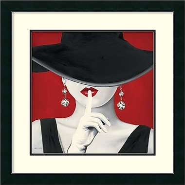 Amanti Art Marco Fabiano Haute Chapeau Rouge I Framed Art Print, 27
