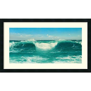 Amanti Art David James A Cornish Roller, 1898 Framed Art Print, 32