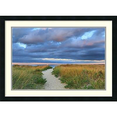 Katherine Gendreau 'Jetties Beach Path' Framed Art Print 30