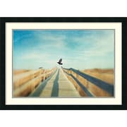 "Dawn Hanna 'Fly' Framed Art Print 30"" x 22"" (DSW1421212)"