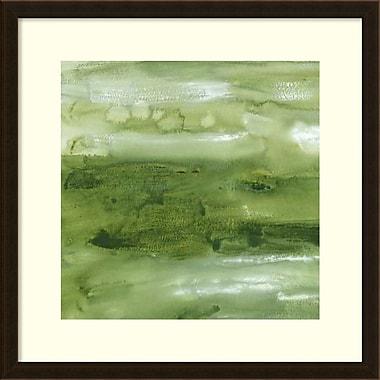 Amanti Art ? Impression encadrée « Malachite I » par Lisa Choate, 26 x 26 po (DSW1418657)
