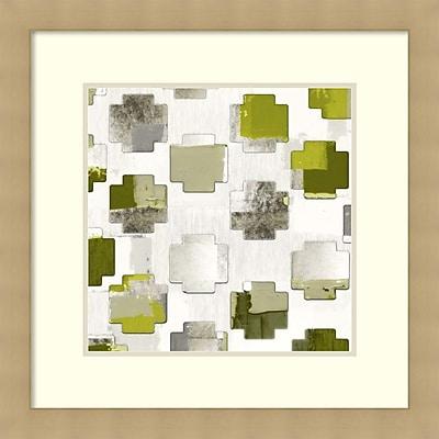 Amy Lighthall 'Add Motif I' Framed Art Print 26