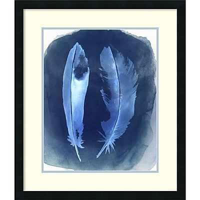 Grace Popp 'Feather Negatives I' Framed Art Print 24