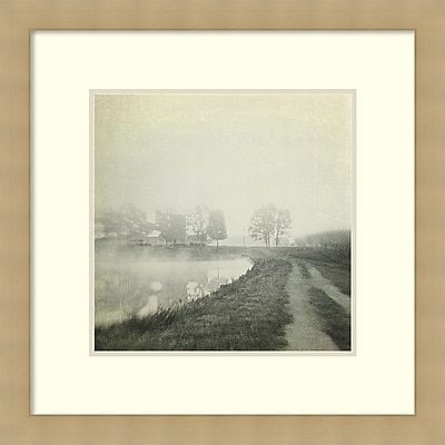 Dawn Hanna 'Foggy Sunrise' Framed Art Print 27