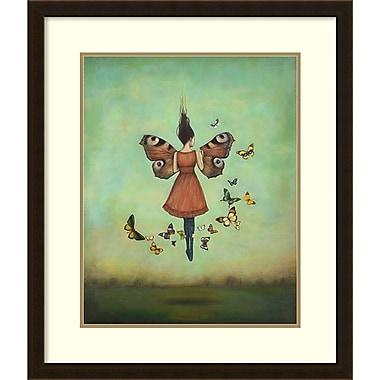 Amanti Art ? Impression encadrée « Ciel imago » par Duy Huynh, 24 x 28 po (DSW1420597)