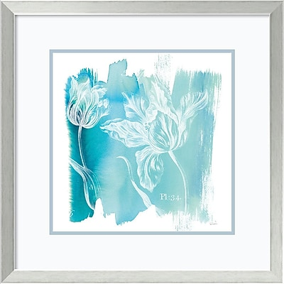 Sue Schlabach 'Water Wash I' Framed Art Print 24