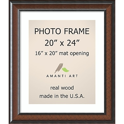 Cyprus Walnut Photo Frame 25 x 29-inch (DSW1385382)