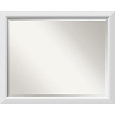 Amanti Art Blanco Wall Mirror, Large, 32
