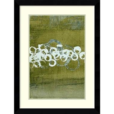 Amanti Art Charles McMullen Green Orbs I Framed Art Print, 25