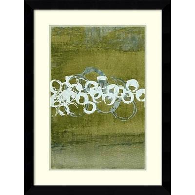 Charles McMullen 'Green Orbs I' Framed Art Print 25