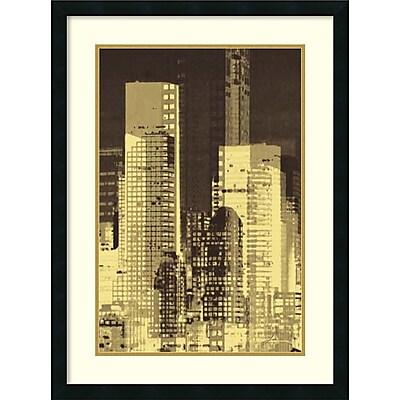 James Burghardt 'Nightline III' Framed Art Print 23