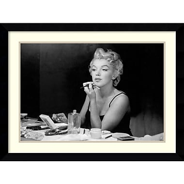 Amanti Art Sam Shaw Marilyn Monroe Back Stage Framed Art Print, 36