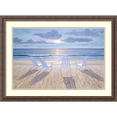 Amanti Art Diane Romanello Friends & Lovers Framed Art Print, 31