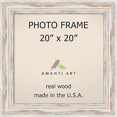 Alexandria Whitewash Photo Frame 25 x 25-inch (DSW1385423)