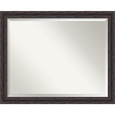Amanti Art Antique Pine Wall Mirror, Large, 32
