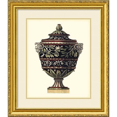 Amanti Art ? Impression encadrée « Urne d?Antonini Clementino I » par Carlo Antonini, 23 x 27 po (DSW1385142)