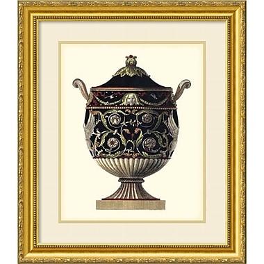 Amanti Art ? Impression encadrée « Urne d?Antonini Clementino IV » par Carlo Antonini, 23 x 27 po (DSW1385143)
