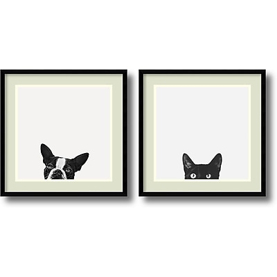 Jon Bertelli 'Loyalty and Curiosity- set of 2' Framed Art Print 20