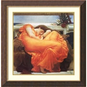 """Lord Frederic Leighton 'Flaming June, c.1895' Framed Art Print 28"""" x 28"""" (DSW2967090)"""