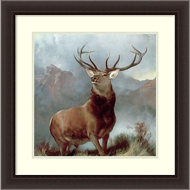 Amanti Art ? Impression encadrée « Le Monarque du Glen, 1851 » par Edwin Landseer, 26 x 26 po (DSW2971924)