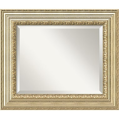 Amanti Art Victorian Champagne Wall Mirror, Medium, 27