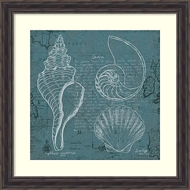 Amanti Art Marco Fabiano Coastal Blueprint I Framed Art Print, 28