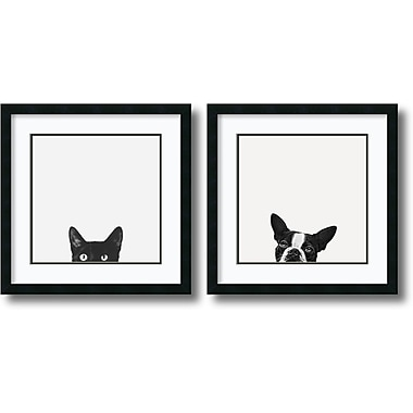 Amanti Art Jon Bertelli Curiosity and Loyalty Framed Art Print, 22
