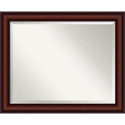 Amanti Art Legacy Mahogany Wall Mirror - Large 33