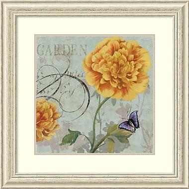 Impression encadrée « Garden » par Aimee Wilson, 28 x 28 po (DSW1408596)