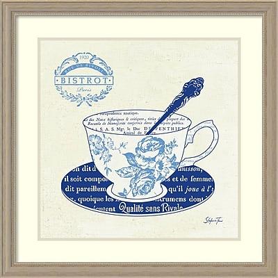 """""Stefania Ferri 'Blue Cups I' Framed Art Print 27"""""""" x 27"""""""" (DSW1418434)"""""" 2192422"