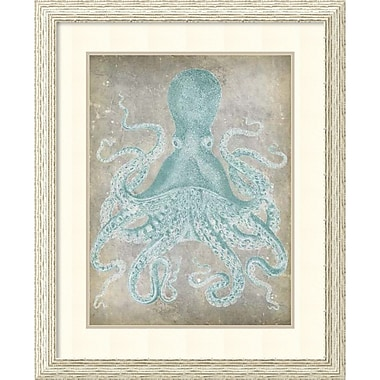 Amanti Art ? Impression encadrée « Spa Octopus I » par Jennifer Goldberger, 27 x 33 po (DSW1421693)