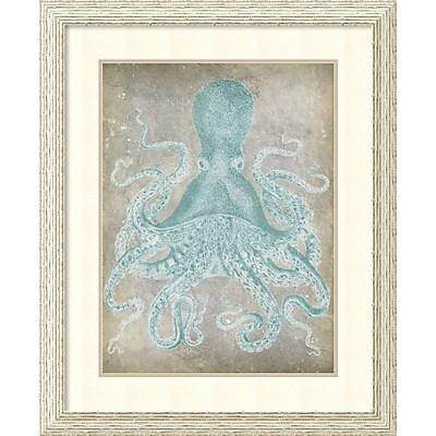 Jennifer Goldberger 'Spa Octopus I' Framed Art Print 27