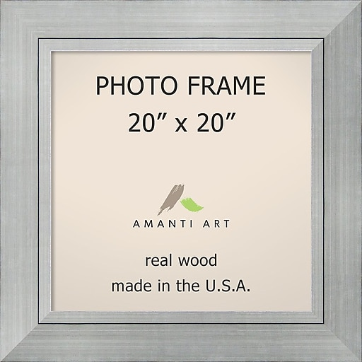 Romano Silver Photo Frame 27 x 27-inch (DSW1385384) | Staples