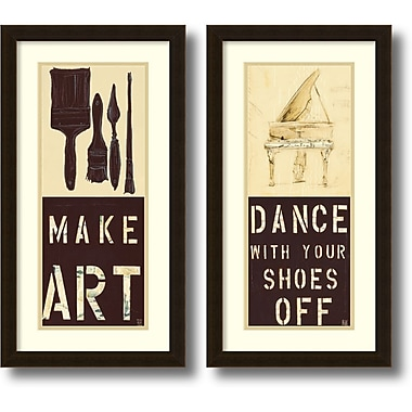 Amanti Art Kelsey Hochstatter Dance and Make Art Framed Art Print, 14