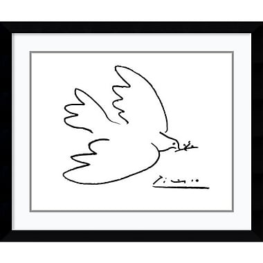 Amanti Art Pablo Picasso Dove of Peace Framed Art Print, 36