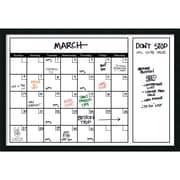 "Mezzanotte White Dry-Erase Calendar 38"" x 26"" (DSW2973076)"