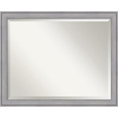 Amanti Art ? Miroir mural cérusé, grand, gris, 31 x 25 po (DSW1418239)