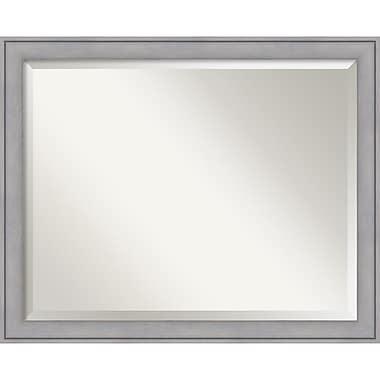Amanti Art Graywash Wall Mirror, Large, 31