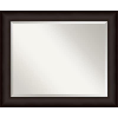 Amanti Art Deep Taupe Wall Mirror - Large 33