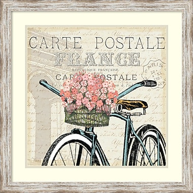 Amanti Art Pela Studio Paris Ride II Framed Art Print, 27